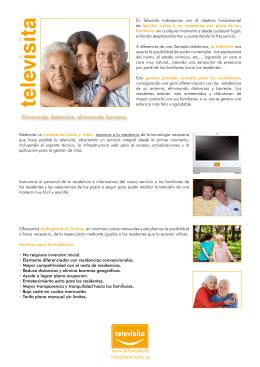 Informacion para Residencias