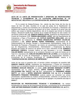 LS-GEV/27/012/07 - Gobierno del Estado de Veracruz