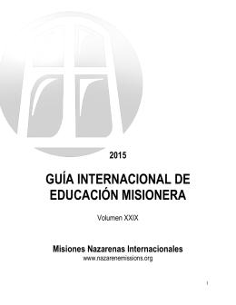 guía internacional de educación misionera