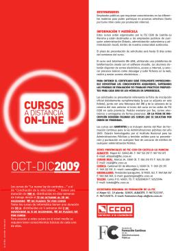 OCT-DIC2009 - FSC Castilla La Mancha