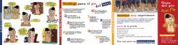 Folleto de Cuidados del Pie - Colegio de Podólogos de Castilla y