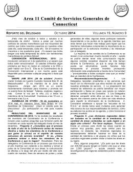 Area 11 Comité de Servicios Generales de Comité de Servicios