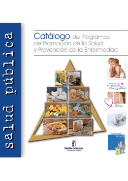 Catálogo de Materiales de Educación para la Salud editados
