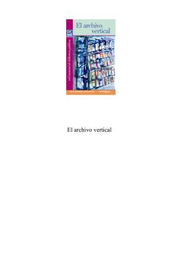 El archivo vertical - Dirección General de Bibliotecas