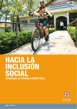 hacia la inclusión social. programa de rehabilitación física