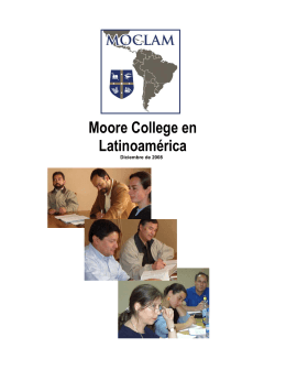 Moore College en Latinoamérica