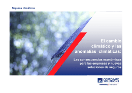 Los seguros climáticos - AXA Corporate Solutions
