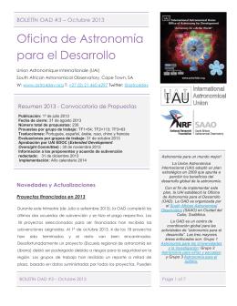Oficina de Astronomía para el Desarrollo