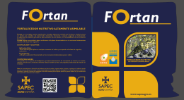 Folleto Fortan