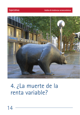 La muerte de la renta variable