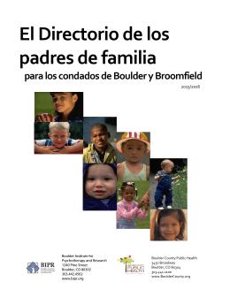 El Directorio de los padres de familia