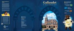Gallaudet 29 - Undergraduate Admissions