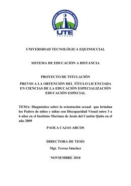 capítulo i - Repositorio Digital UTE
