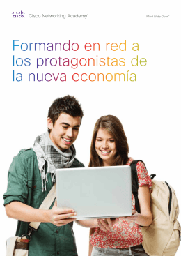 Descargar el folleto - Cisco Networking Academy