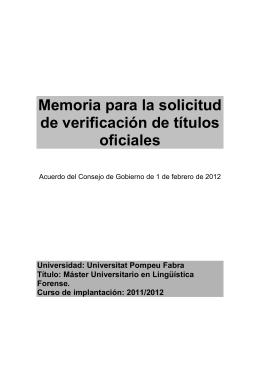 Memoria MLINF al·legacions NEGRE. Modificacions