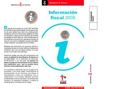 Información fiscal 2008 D