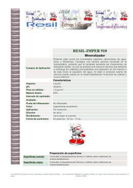 RESIL-IMPER 910