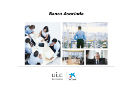 """Productos Bancarios de """"La Caixa para UIC Barcelona"""