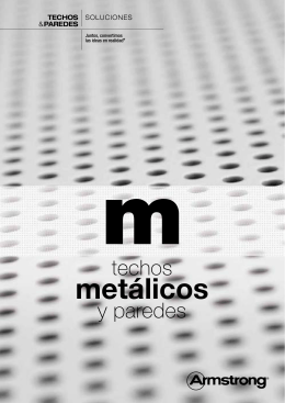 metálicos - Armstrong