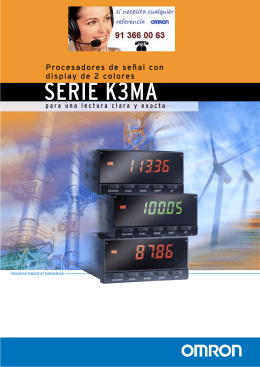 K3MA-Series Folleto