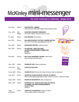 McKinley mini-messenger