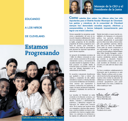 Spanish PDF - Cleveland Metropolitan School District