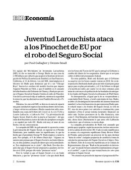 2 Juventud Larouchista ataca a los Pinochet de EU por el robo del