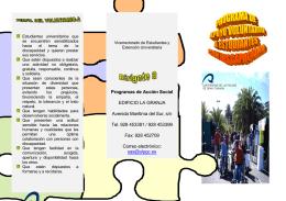 Programas de Acción Social EDIFICIO LA GRANJA Avenida