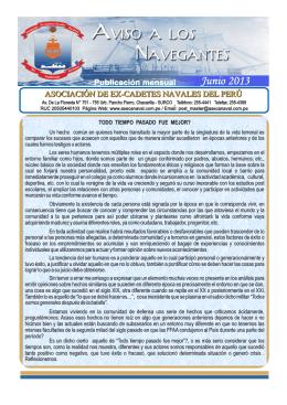 INTERIOR JUNIO 2013 - Asociación de Ex