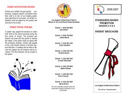 07 29 04 Brochures - Los Angeles Unified School District