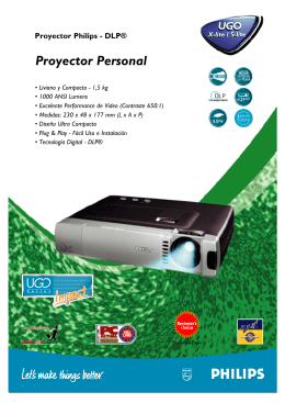 Proyector Personal