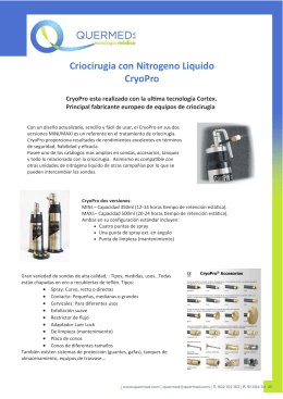 Folleto CryoPro