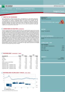 bnp paribas l1 world commodities - BNP Paribas Investment Partners