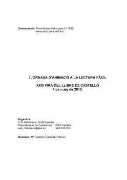 Descripción contexto - Asociación Lectura Fácil