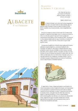 Albacete y su Parador [folleto]
