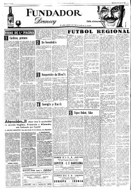 REGIONAL - Mundo Deportivo