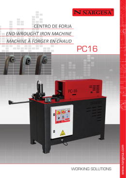 CATALOGO PC16 DIN A4