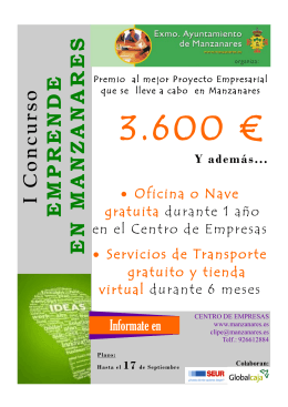 IC on cu rso EMPRENDEENMANZANARES