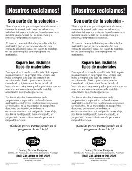 WeRecyele-Spanish 11/04