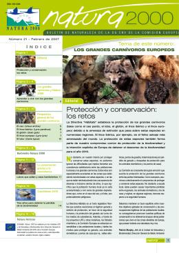 Protección y conservación: los retos - European Commission