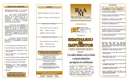 folleto seminario Mayo