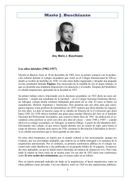 Mario J. Buschiazzo