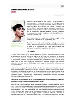 Descargar Entrevista Alejandra Perez
