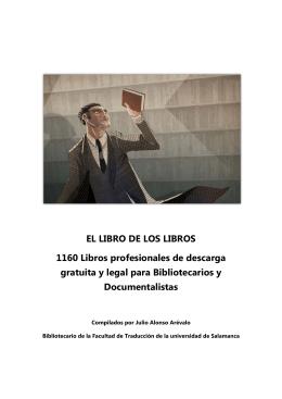 EL LIBRO DE LOS LIBROS 1160 Libros profesionales de