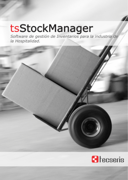 tsStockManager Folleto