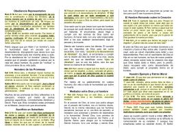 doct26 La Humanidad de Jesús - Folletos y Tratados Evangelicos