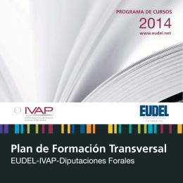 folleto Formación transversal