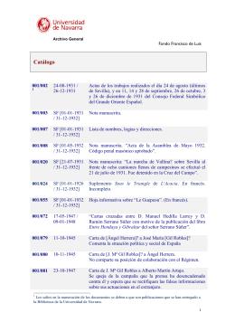 Catálogo - Dadun - Universidad de Navarra