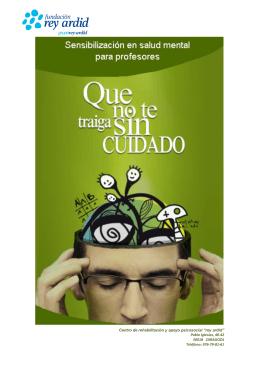 Folleto Profesores - Fundación Rey Ardid