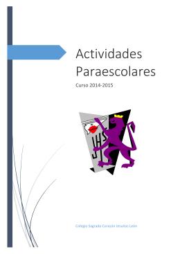 Actividades Paraescolares